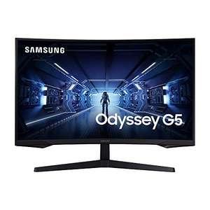 """Samsung Odyssey G5 C32G53T 1000R 31,5"""" WQHD Curved Gaming-Monitor (VA, 144 Hz, AMD FreeSync, adaptive Sync, HDR10, HDMI, VESA) [Amazon]"""