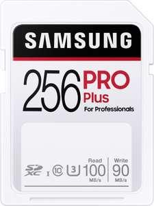 Samsung PRO Plus SDXC UHS-I U3 256GB für 25,39€ & 32GB für 7,99€ [Amazon Prime]