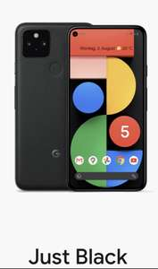 Google Pixel 5 128 GB (black)