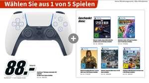 [Lokal Mediamarkt Zella-Mehlis] DualSense™ Wireless Controller PS5 + 1 Spiel aus 5 nach Wahl für 88,-€ zb.Demon Souls oder Miles Morales