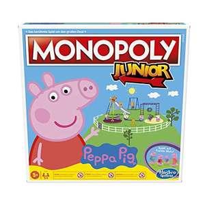 Monopoly Junior: Peppa Pig Edition, Brettspiel für 13,58€ (Amazon Prime)