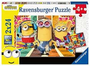 Ravensburger Spiel - Die Minions in Aktion, 2x24 Teile inkl. Mini-Poster für 6,99€ (Amazon Prime)