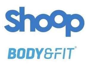 [Shoop] Body & Fit 13% Cashback (statt 2,8%) + 5€ Shoop Gutschein + Bis zu 50% Rabatt auf ausgewählte Artikel