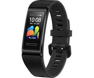 Huawei Band 4 Pro Fitness-Aktivitätstracker in schwarz [Herzfrequenz- und Schlafüberwachung, eingebautes GPS, 5 ATM wasserfest]