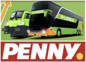 Flixbus - 15€ Guthaben für 12,75€ [Penny / Penny-Kartenwelt]