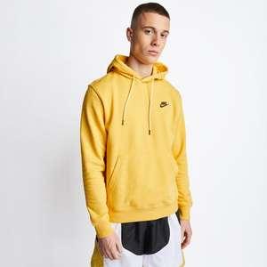 Nike Sportswear Hoodie in solar flare (Gr. XS - L) od. in white / dark smoke grey (Gr. XS, S, L & XL) I Nike Jogger Cuffed (Gr. M - XL)