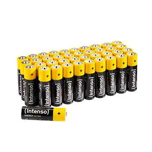 Intenso Energy Ultra AA Mignon LR6 Alkaline Batterien 40er Pack für 5,99€ & AAA für 4,99€ (Amazon Prime & Saturn & Media Markt Abholung)