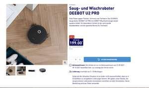 26% Rabatt Saug- und Wischroboter DEEBOT U2 PRO