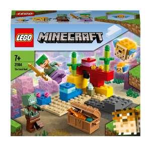 LEGO Minecraft: Das Korallenriff (21164) für 6,55€ (Thalia)