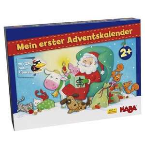 [Thalia-Club] Mein erster Adventskalender: Weihnachten auf dem Bauernhof mit 24 Holzfiguren von Haba