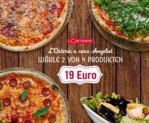 L'Osteria A Casa Angebot zwei Gerichte für nur 19€
