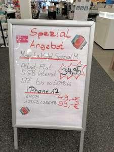 [LOKAL] [expert BENING] iPhone 12 (256 GB) Magenta Mobil Special M (5 GB LTE, Allnet- & SMS Flat) für 99€ einmal & 34,99 € mtl. + 39,99 AG