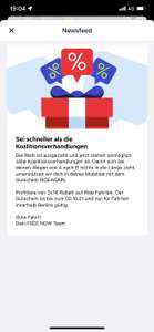 FREENOW - 2x 7€ Rabatt - Only Berlin