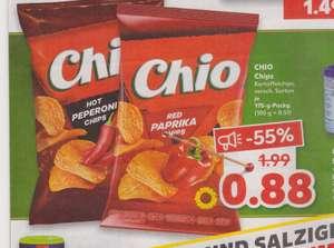 ab dem 04.10.21 Chio Chips vers. Sorten für 0,88€ bei Kaufland