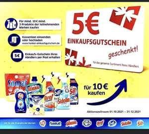 DM 5€ Henkel Gutschein beim Kauf von drei Produkten für 10€