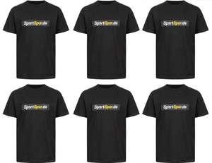 "6x Hanes Kinder T-Shirt x SportSpar.de ""Baumwollinho"" (0,99€ pro Shirt + VSK, 100% Baumwolle, Größe 110 - 164) [SportSpar]"