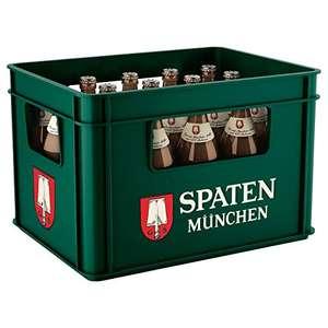 SPATEN Münchner Hell Flaschenbier, MEHRWEG (20 x 0.5 l) im Kasten, Helles aus München