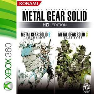 Metal Gear Solid HD Edition: 2 & 3 (Xbox One/Xbox 360) für 4,99€ oder für 2,95€ CZ (Xbox Store)