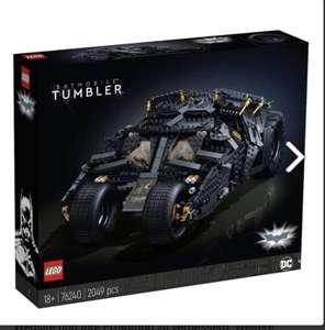 Lego 76240 Super Heroes DC Batman Batmobile Tumbler vorbestellen
