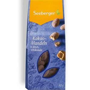 0,10€ - Seeberger Kakao Mandeln in Schokolade, Lebensmittel Sonderposten