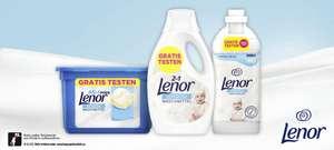 [GzG] GRATIS testen/100% Cashback auf Lenor Sensitiv Waschmittel und Weichspüler (bis zu 2 Produkte) - bis 31.01.2022