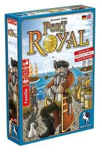 [KULTCLUB] Gesellschaftsspiel/Kartenspiel/Brettspiel/Familienspiel Port Royal (2-4 Spieler ab 8, Pegasus Spiele) [BGG 7.1]