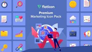 Freepik - Premium Marketing Icon Design Pack