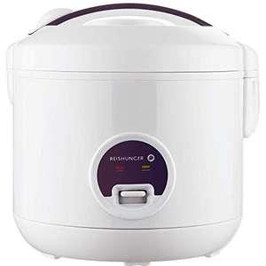 Reishunger Reiskocher & Dampfgarer mit Warmhaltefunktion und Antihaft-Beschichtung