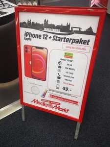 (Lokal) (Media Markt Magdeburg) IPhone 12 Deal inkl. Zubehör mit Mobilcom Debitel Green LTE 30GB Tarif