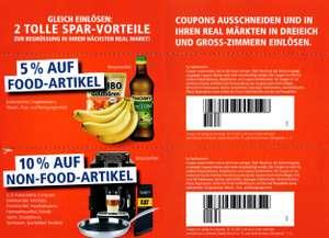 [REAL] 5% Coupon für Food/Drogerie/Reinigung // 10% auf Non-Food [Dreieich + Groß-Zimmern]