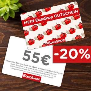 [EUROSHOP] 55€ Gutscheinkarte für 44€