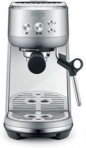 [Amazon] Sage Appliances SES450 the Bambino, Siebträger Espressomaschine, Gebürstetes Edelstahl