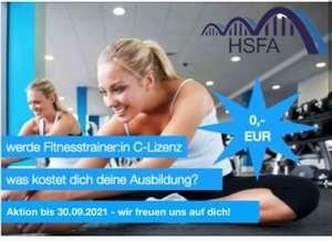 Fitnesstrainer C-Lizenz kostenlos bei HSFA Hamburg (Onlinekurs)