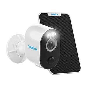 Reolink 2K 4MP Akku Überwachungskamera - Argus 3 Pro + Solarpanel