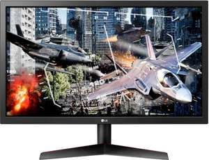 "LG 24GL600F Gaming-Monitor (60 cm/24 "", 1920 x 1080 Pixel, Full HD, 1 ms Reaktionszeit, 144 Hz), [Neukundenrabatt, sonst 127,85€]"