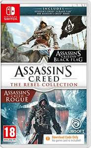 Assassins Creed The Rebel Collection Nintendo Switch Code in a Box