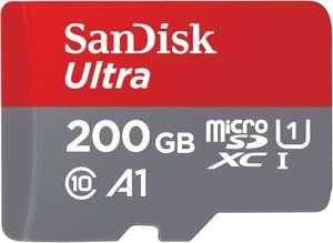 [Euronics Abholung] SanDisk Ultra microSDXC 200GB (Class 10, UHS-I, U1, A1)
