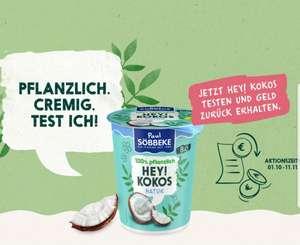 Söbbeke HEY! KOKOS Bio Joghurt-Alternative Gratis Testen [GzG - ab 01.10.]