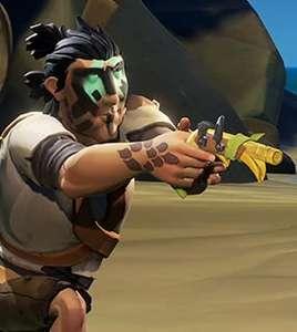 Sea of Thieves Knurps-Pistolenpaket Ingame-Loot (Xbox One & PC) kostenlos (Prime Gaming)