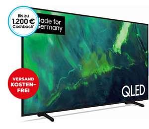 Samsung GQ43Q73AAU QLED TV 43 Zoll (108 cm), 4K UHD, Sprachsteuerung, Aufnahmefunktion (mit Cashback effektiv 399,- €)
