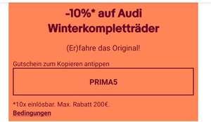 -10% auf Audi Winterkompletträder