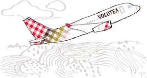 Volotea Oneway Flüge für 1€ + 1,50€ Cashback bei TopCashback - z.B. von Bordeaux nach Santorini