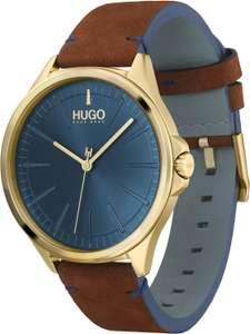 [Update: wieder da!] Hugo Boss Quarz Herren Armbanduhr mit Lederarmband