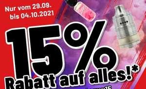 15% auf Alles im Shop bis 4.10   Riccardo