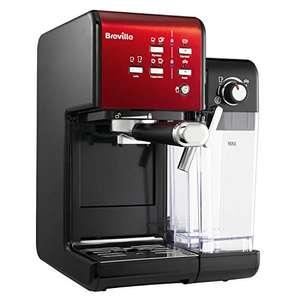Breville PrimaLatte II Kaffee- Espressomaschine  Pumpe 19 Bar  fr Kaffeepulver oder Pads