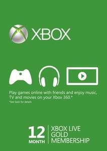 Xbox Game Pass Ultimate 13 Monate durch Xbox Live Gold 12 Monate