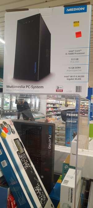 (Lokal Detmold) Medion E62029 - I5-10400, 512GB SSD, 16GB DDR4 - Einzelstück - G332 Headsets, G213 Tastatur