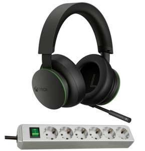 Microsoft Xbox Wireless Headset + Brennenstuhl Eco Line 6fach Steckdosenleiste