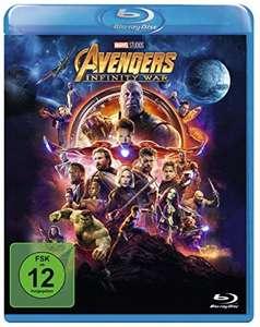 Avengers: Infinity War (Blu-ray) für 6,55€ (Amazon Prime & Thalia Club)