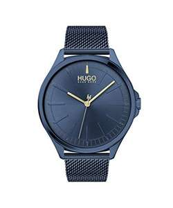 HUGO Quarz Uhr mit Edelstahl Armband 1530136